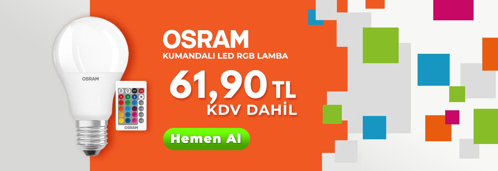 Osram Kumandalı Led RGB Lamba